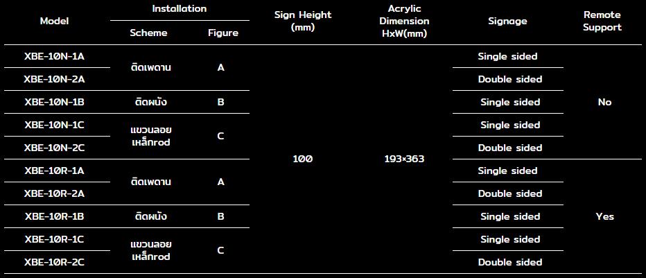 dyno-XBE-10-series-spec